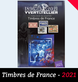 Catalogue de cotation des Timbres de France - 2021 - Yvert et Tellier